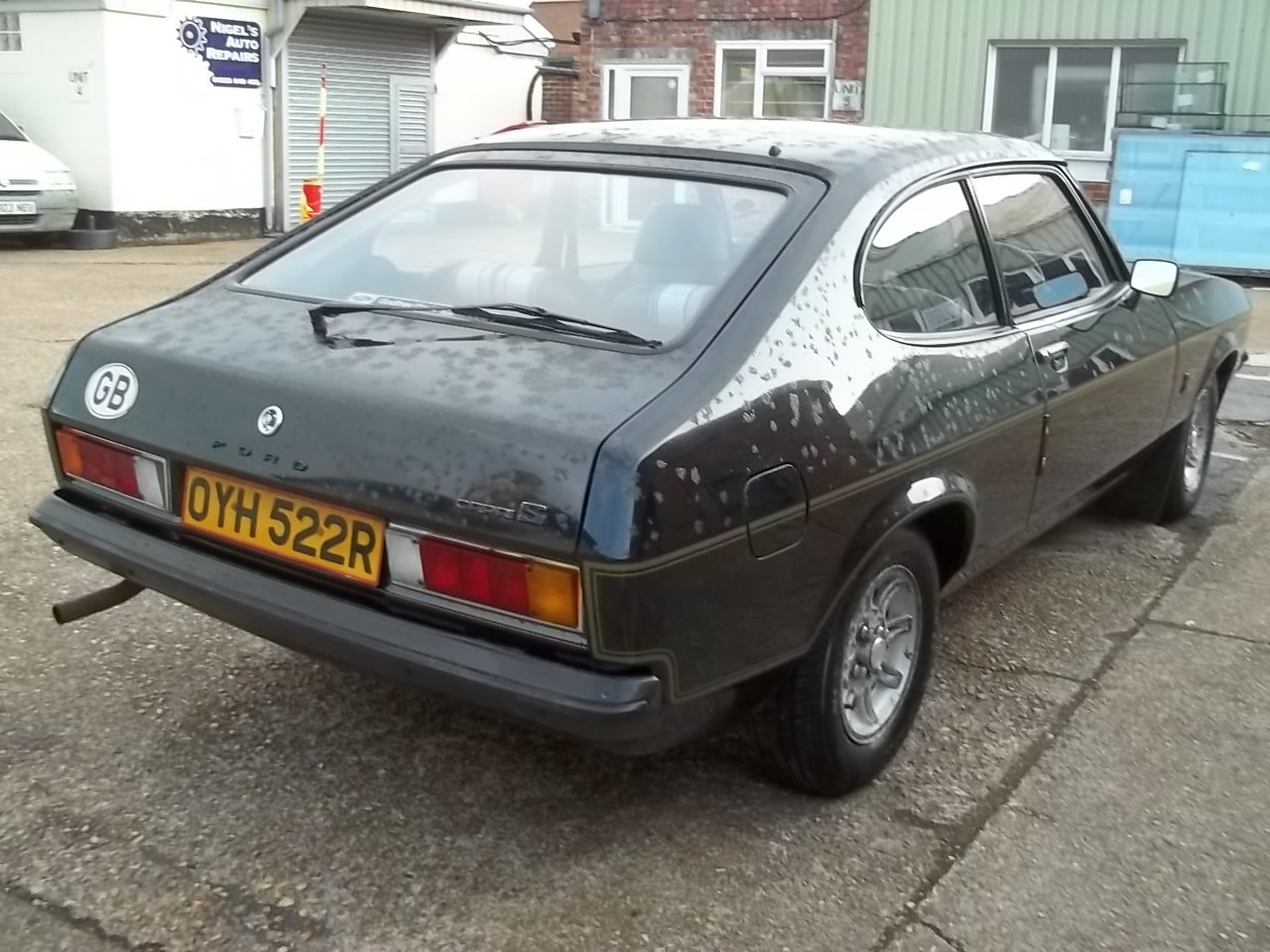 1977 Ford Capri 2.0S 1 owner from new SOLD (picture 2 of 6)