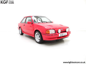 1989 A Ford Escort RS Turbo Series 2 with 37,759 Miles SOLD