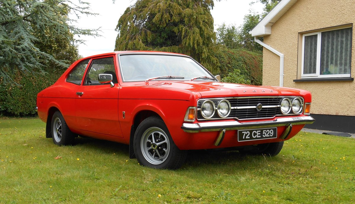 1972 Ford Cortina MK3 1600 GT 2 door. For Sale (picture 6 of 6)