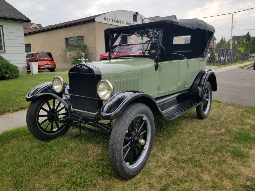 1927 Ford Model T Touring For Sale (picture 1 of 6)