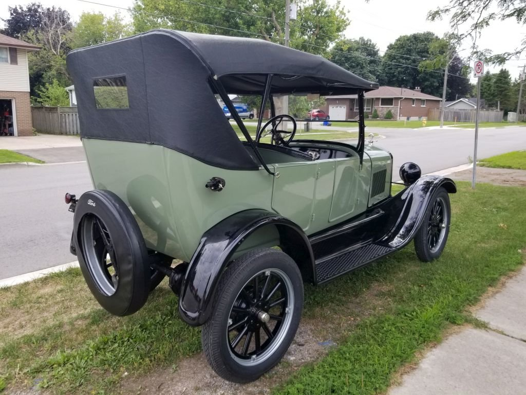 1927 Ford Model T Touring For Sale (picture 2 of 6)
