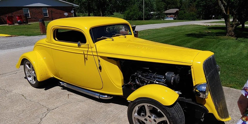 1934 Ford Coupe (Exeter, MO) $39,900 obo For Sale (picture 1 of 6)