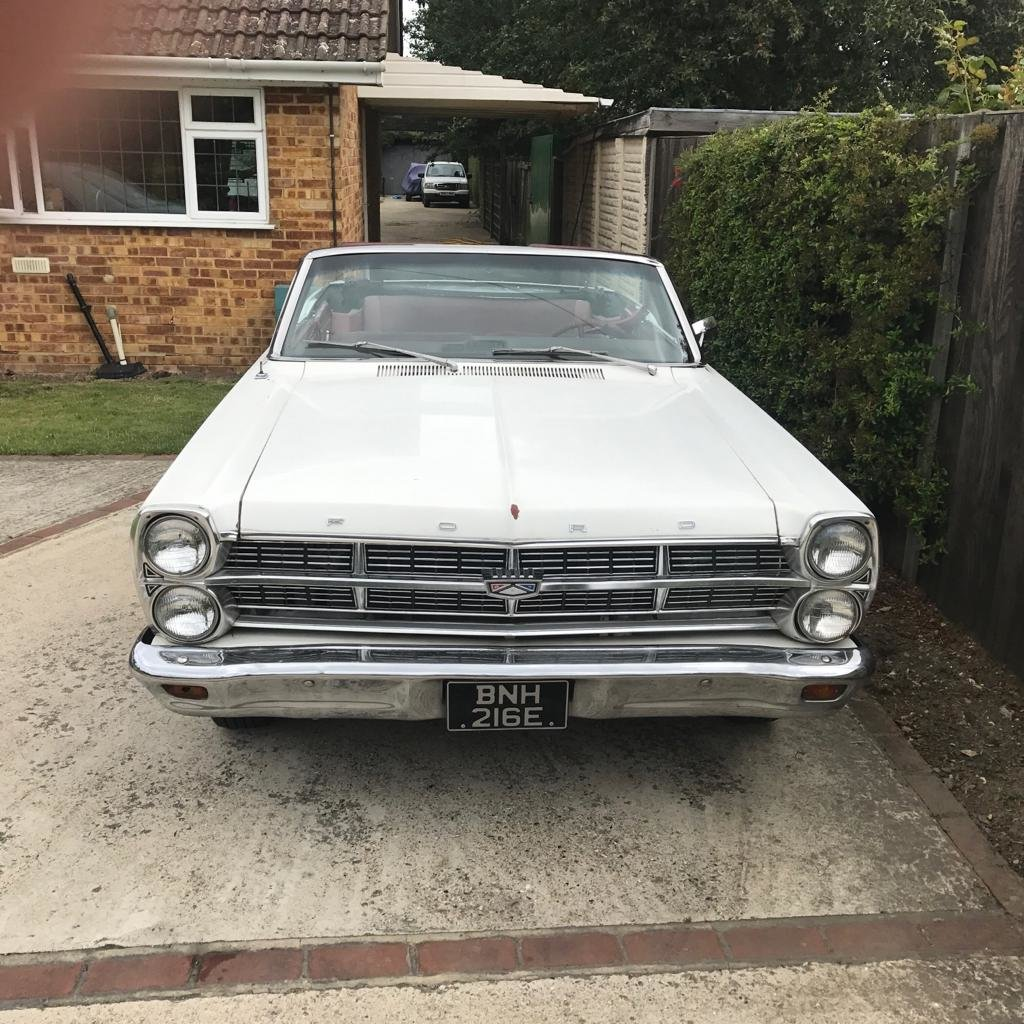 1967 Ford fairlane 500 convertible For Sale (picture 2 of 2)
