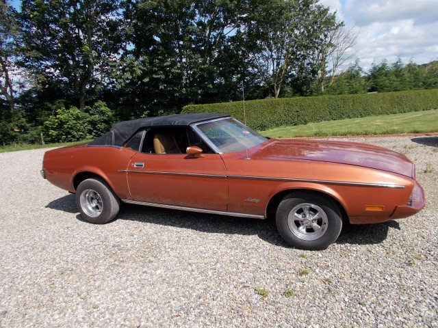 1973 FORD MUSTANG 302 V8 CONVERTIBLE For Sale (picture 1 of 6)