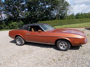 1973 FORD MUSTANG 302 V8 CONVERTIBLE For Sale