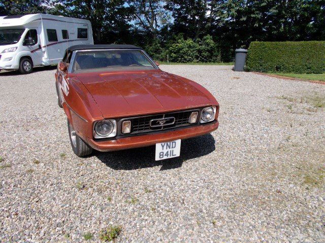1973 FORD MUSTANG 302 V8 CONVERTIBLE For Sale (picture 3 of 6)