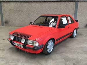 1983 Ford Escort RS 1600i at Morris Leslie Auction 17th August For Sale by Auction