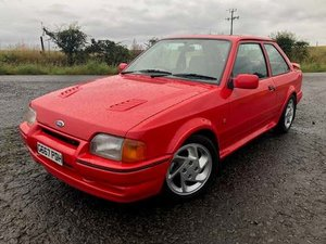 1989 Ford Escort RS Turbo at Morris Leslie Auction 17th August For Sale by Auction