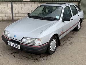 1990 Ford Sierra LX Auto at Morris Leslie Auction 17th August For Sale by Auction
