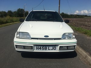 1991 RS TURBO FORD FIESTA  - LHD For Sale