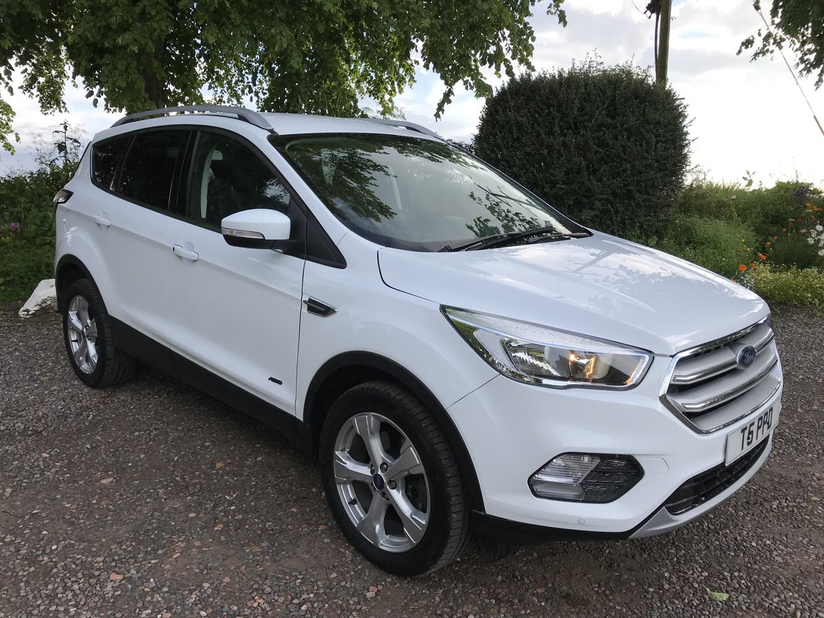 2018 Kuga Zetec AWD , low miles please read in full For Sale (picture 1 of 4)