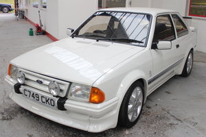 1985 Ford Escort S1 RS TURBO NON CUSTOM For Sale by Auction