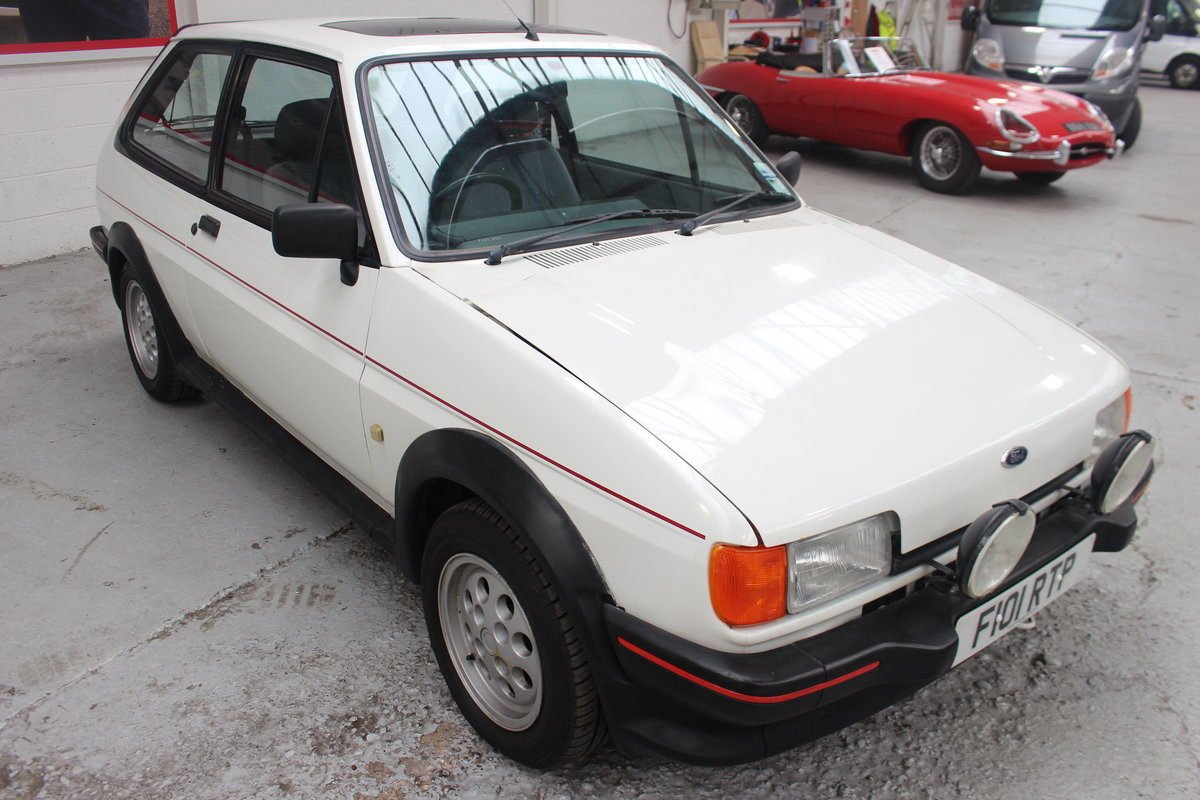 1989 FORD FIESTA XR2 For Sale by Auction (picture 1 of 6)