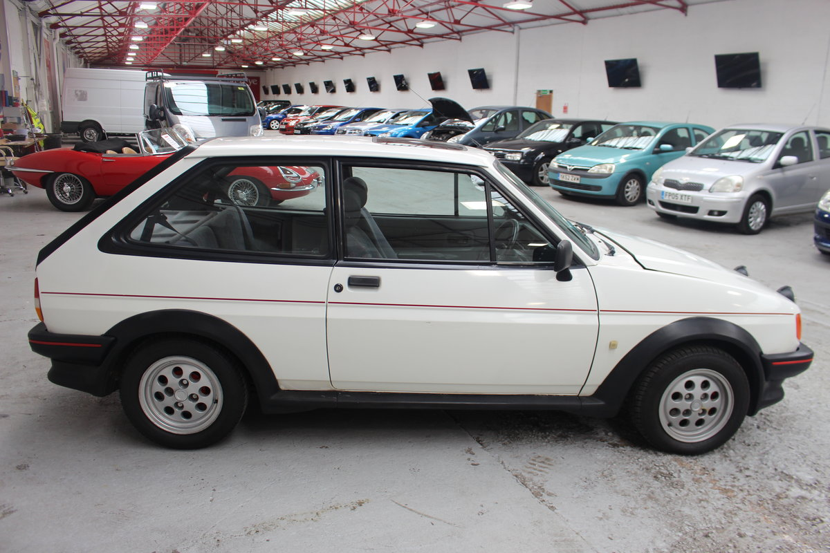1989 FORD FIESTA XR2 For Sale by Auction (picture 2 of 6)