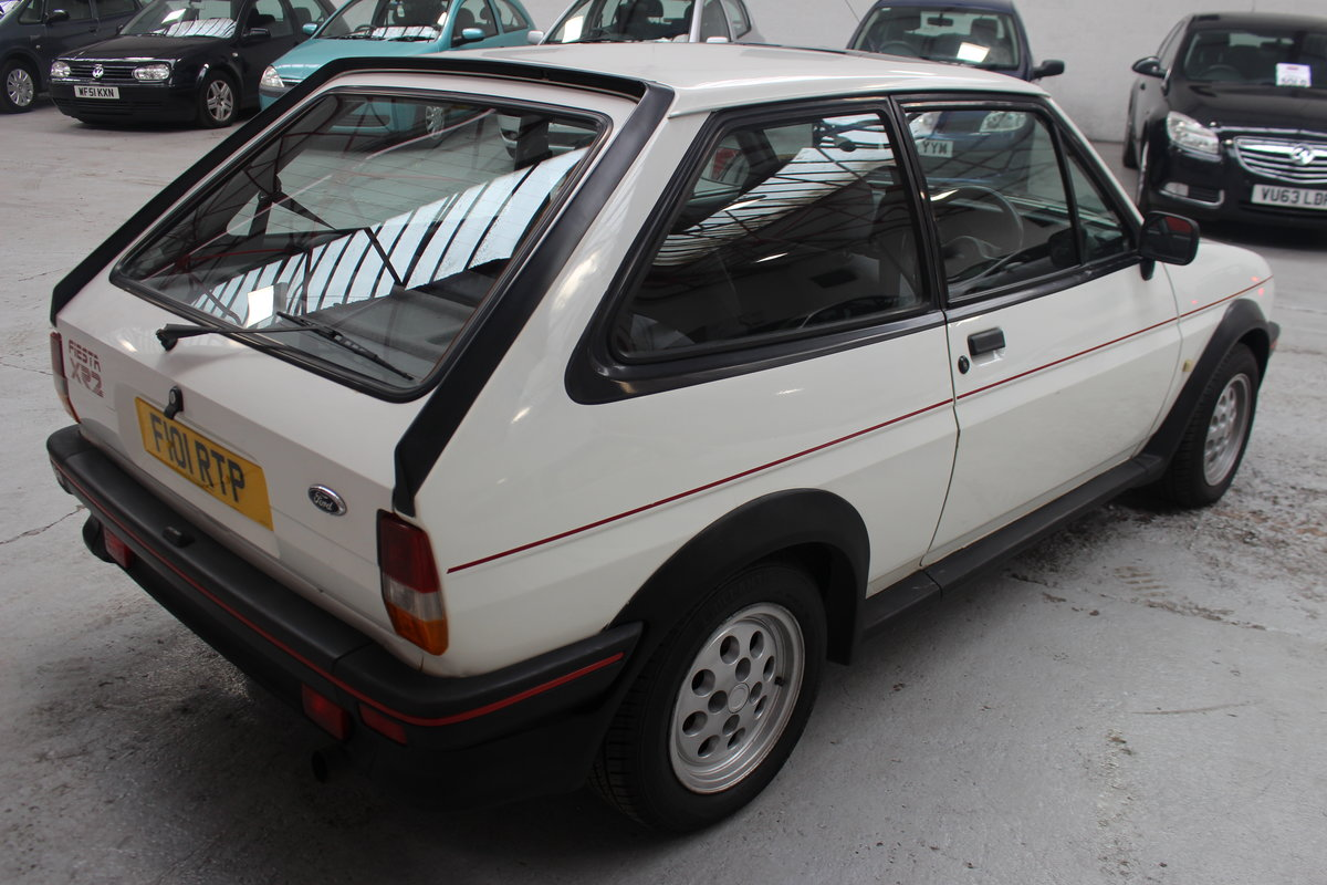 1989 FORD FIESTA XR2 For Sale by Auction (picture 3 of 6)