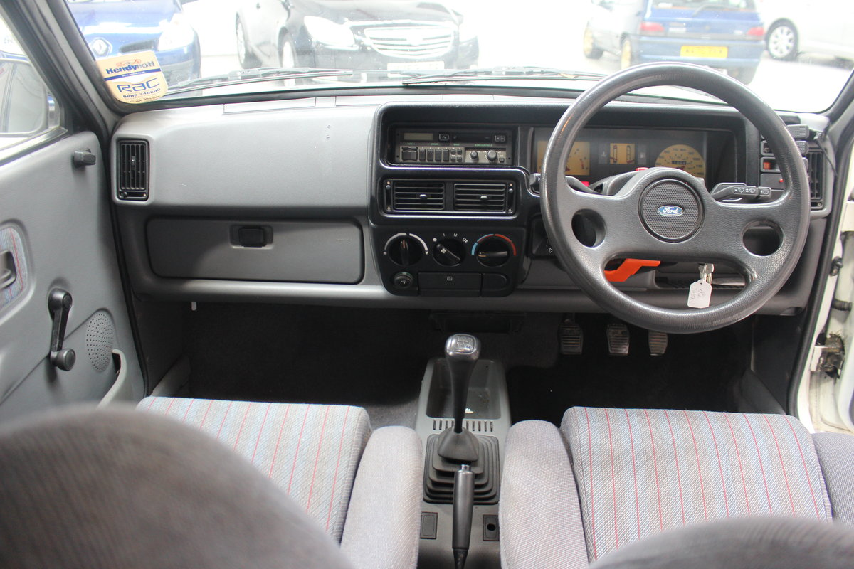1989 FORD FIESTA XR2 For Sale by Auction (picture 4 of 6)