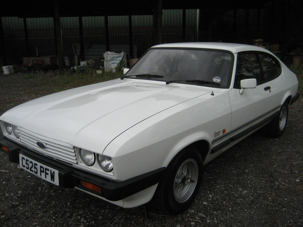1986 Ford Capri 2.0 Laser SOLD (picture 1 of 6)