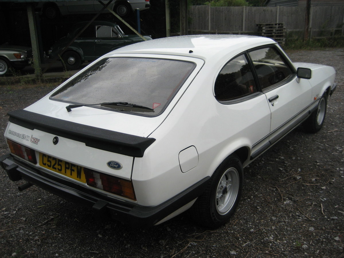 1986 Ford Capri 2.0 Laser SOLD (picture 3 of 6)