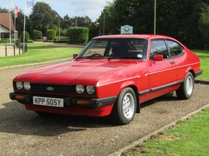 1983 Ford Capri 2.8 Injection at ACA 24th August  For Sale
