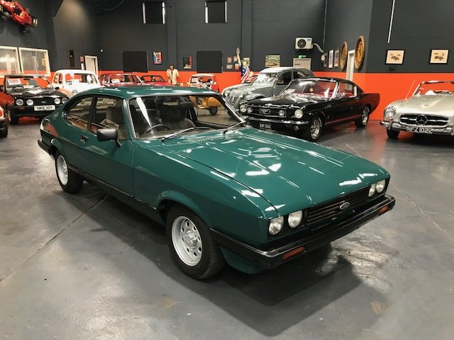 1972 - FORD CAPRI 1.6 - ONLY 8000 MILES!! For Sale (picture 1 of 6)