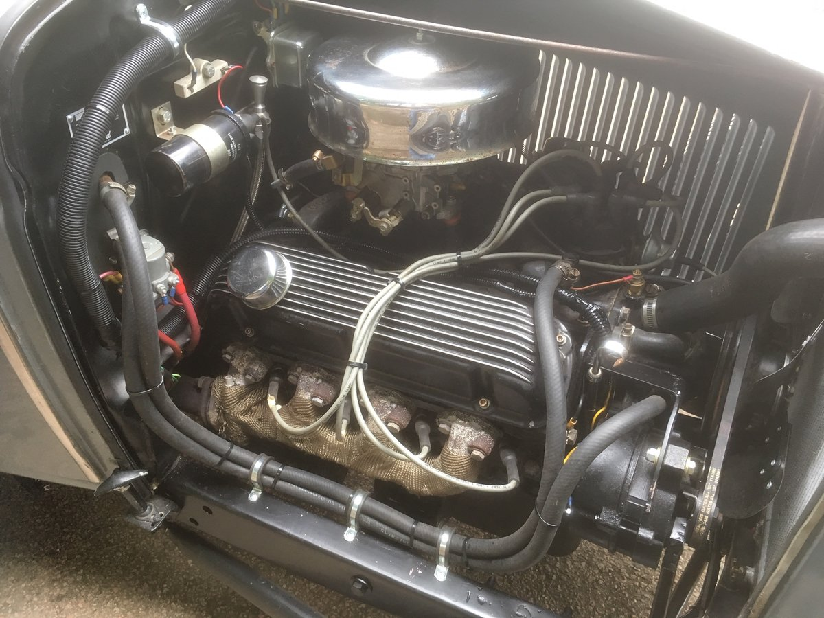 1931 Ford Model A V8 Roadster Pick Up Hotrod For Sale (picture 2 of 6)