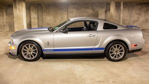 2008 Ford Shelby GT500 KR Rare 1 of 476 Silver 540-HP $64.9k For Sale