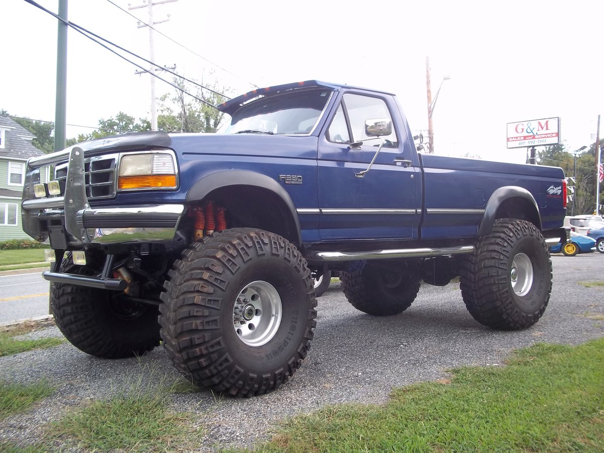 1996 Ford F350 4X4 Monster Truck For Sale (picture 1 of 5)