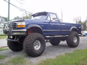 1996 Ford F350 4X4 Monster Truck For Sale
