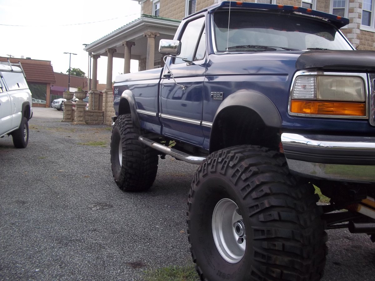1996 Ford F350 4X4 Monster Truck For Sale (picture 2 of 5)