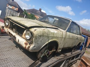 1968 Ford cortina mk2 lotus barn find For Sale