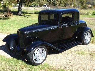 1932 Ford 5 Window Coupe Custom TPI IROC 305V8 mods $46k  For Sale