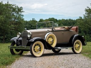 1930 Ford Model A Deluxe Roadster  For Sale by Auction
