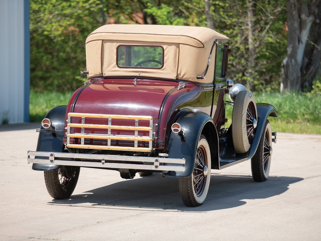 1931 Ford Model A Sport Coupe  For Sale by Auction (picture 2 of 6)