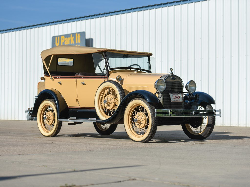 1929 Ford Model A Phaeton  For Sale by Auction (picture 1 of 6)