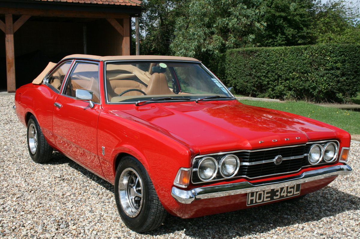 1972 Ford Cortina MK3 2.0 GT Crayford Convertible Auto.Very Rare For Sale (picture 1 of 6)