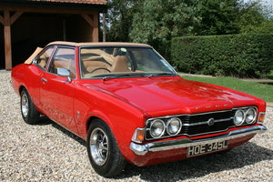 1972 Ford Cortina MK3 GT Crayford Convertible Automatic.Very Rare For Sale