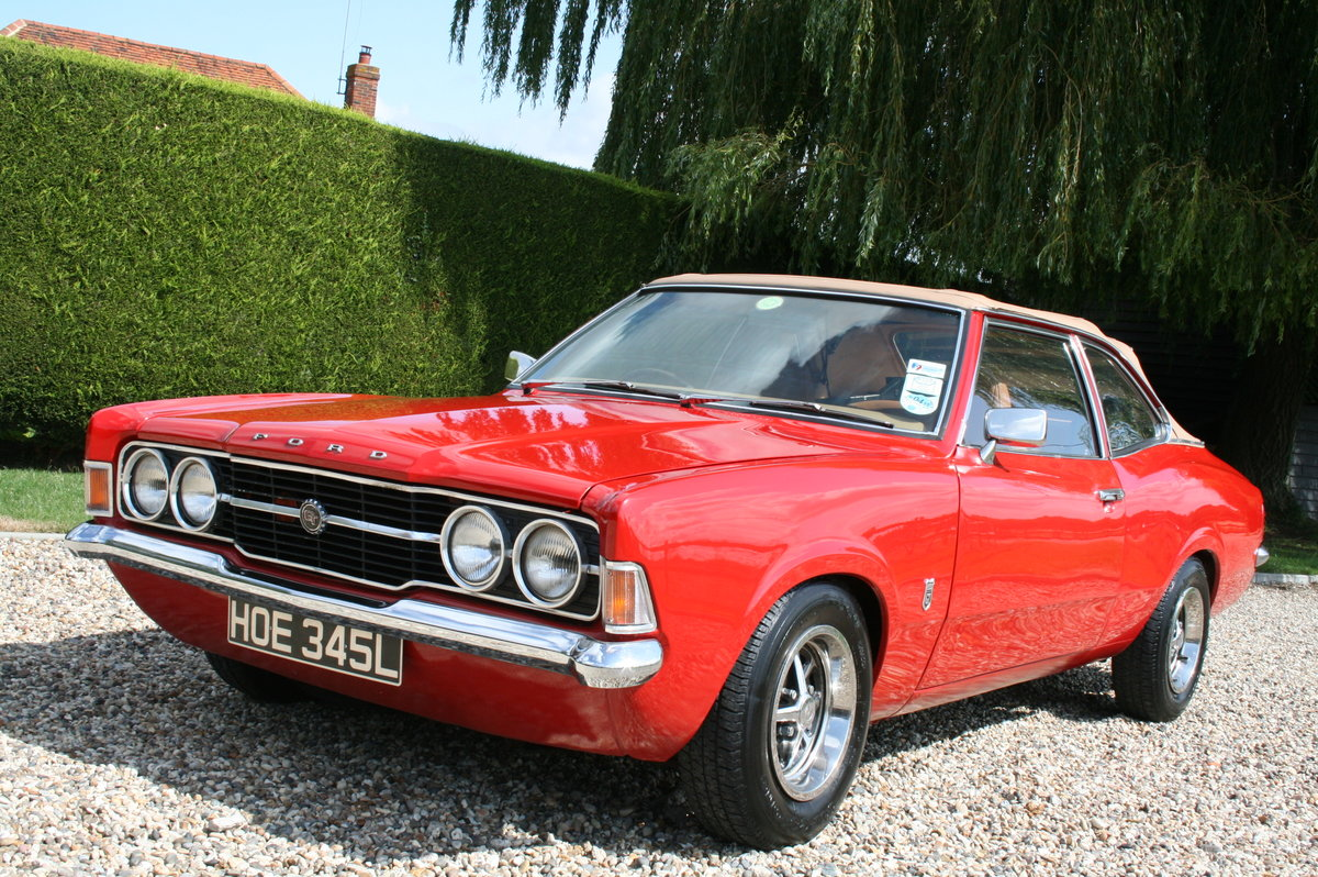 1972 Ford Cortina MK3 2.0 GT Crayford Convertible Auto.Very Rare For Sale (picture 5 of 6)