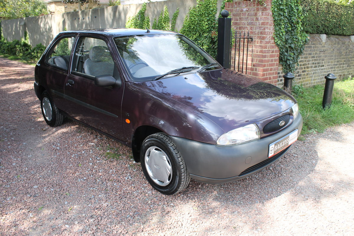 1995 Show Condition Fiesta 1.25 Zetec LX With A Mere 23k Miles For Sale (picture 1 of 6)