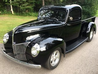1940 Ford Pickup Truck Custom 1 of Kind 289-Hi-Pro $57.5k