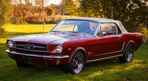 1965 FORD MUSTANG CONVERTIBLE For Sale by Auction
