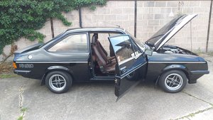 1980 ESCORT RS 2000 JUST COMPLETED £30K NUT & BOLT RESTO For Sale