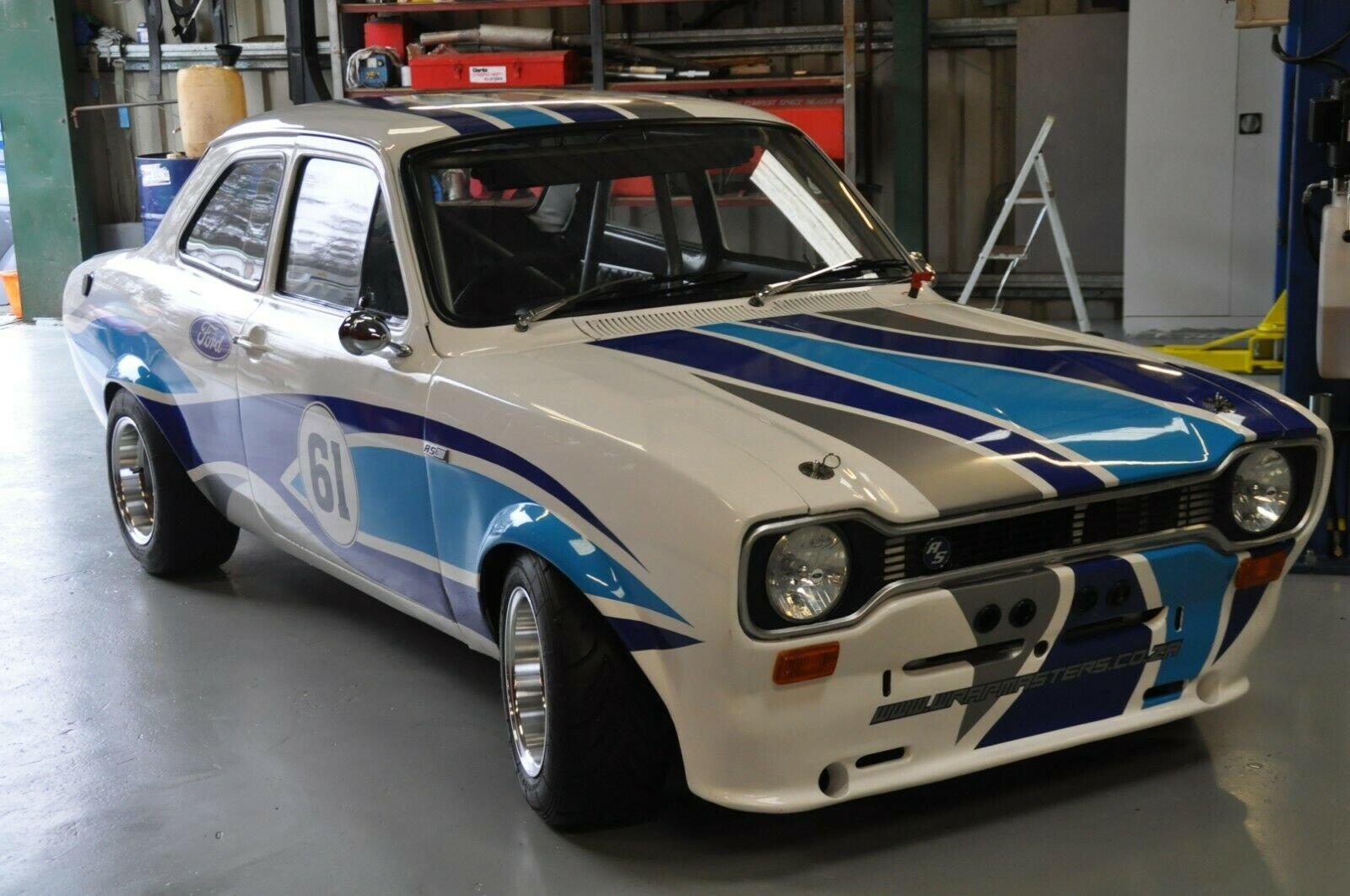 MK1 FORD ESCORT RACE CAR 2.0 PINTO 5 SPEED TYPE 9 GEARBOX MO For Sale (picture 2 of 6)