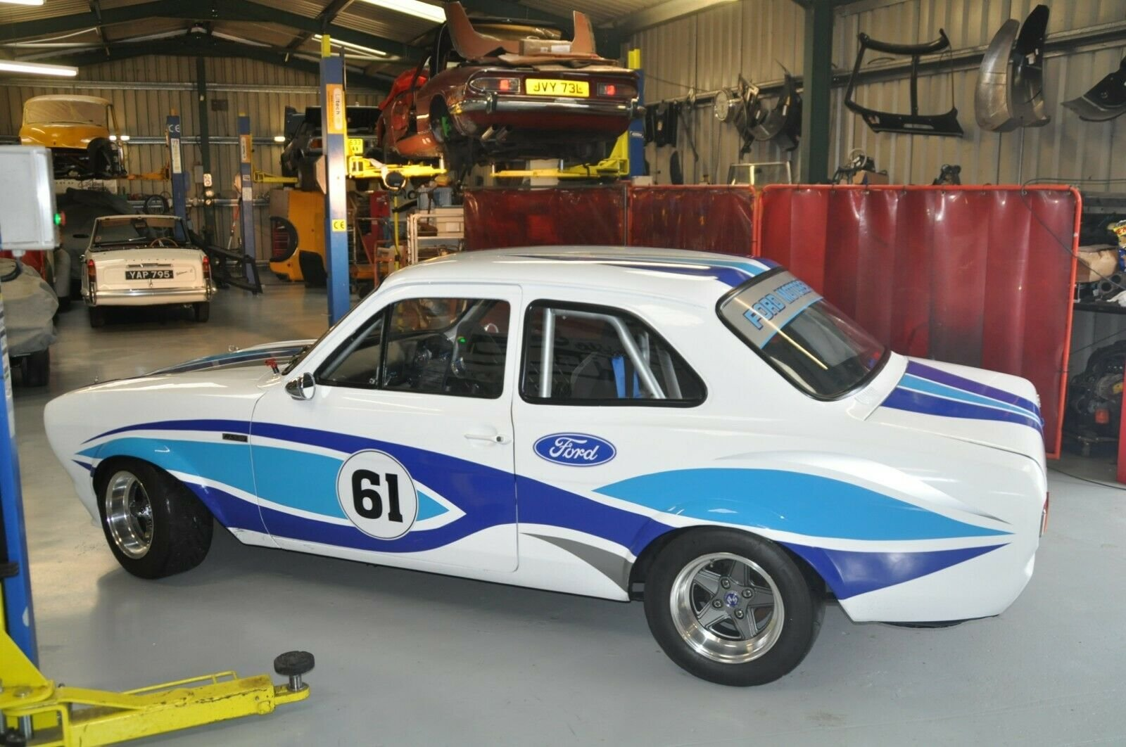 MK1 FORD ESCORT RACE CAR 2.0 PINTO 5 SPEED TYPE 9 GEARBOX MO For Sale (picture 3 of 6)
