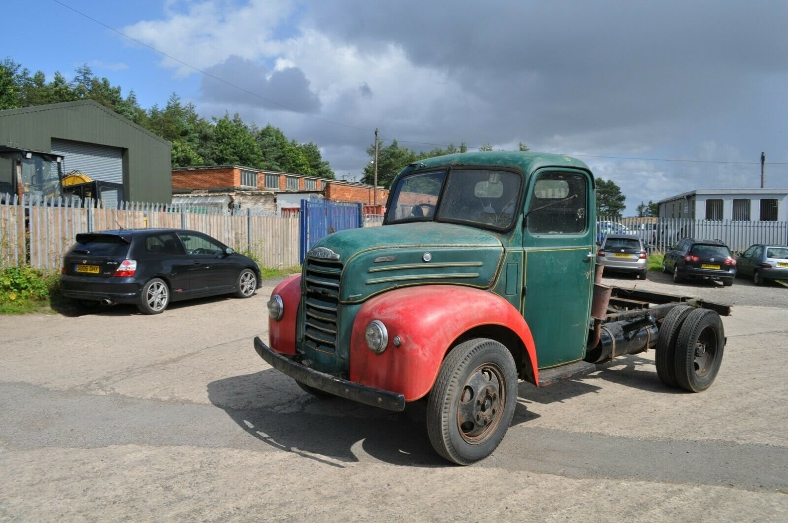 1955 FORD THAMES TRADER ET6 CLASSIC TRUCK MOT EXEMPT FORDSON SOLD (picture 1 of 6)