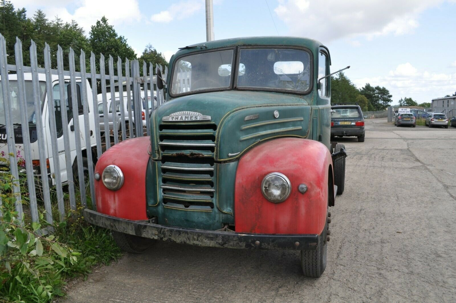 1955 FORD THAMES TRADER ET6 CLASSIC TRUCK MOT EXEMPT FORDSON SOLD (picture 2 of 6)