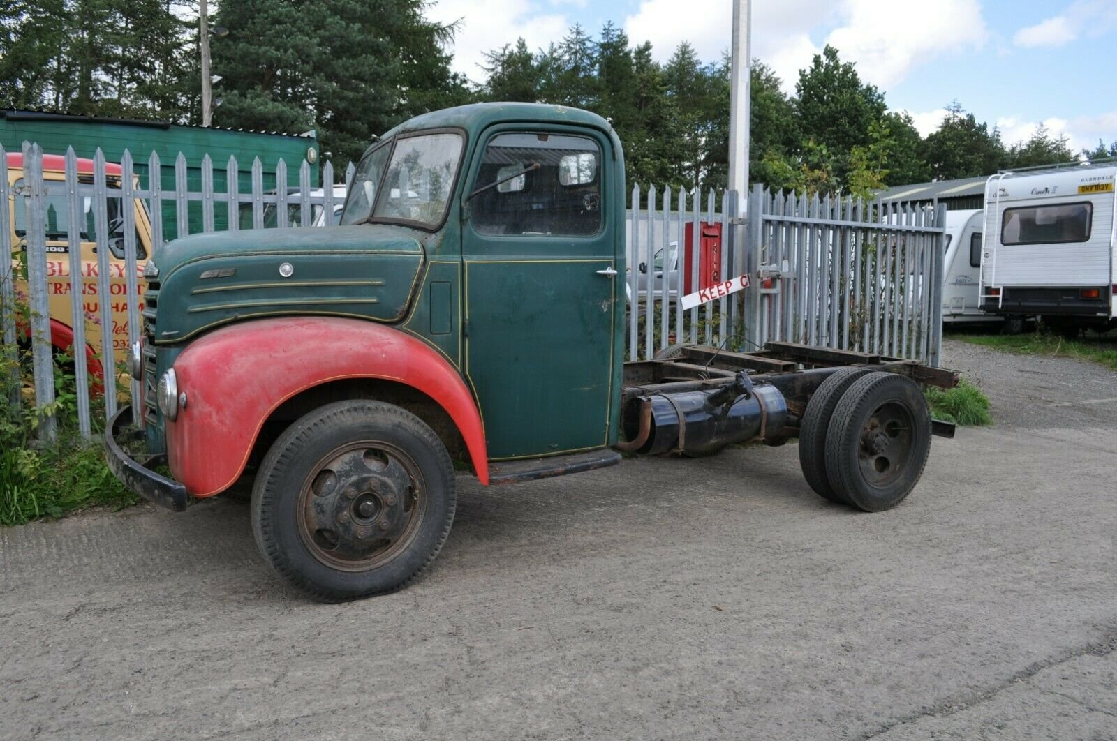 1955 FORD THAMES TRADER ET6 CLASSIC TRUCK MOT EXEMPT FORDSON SOLD (picture 3 of 6)