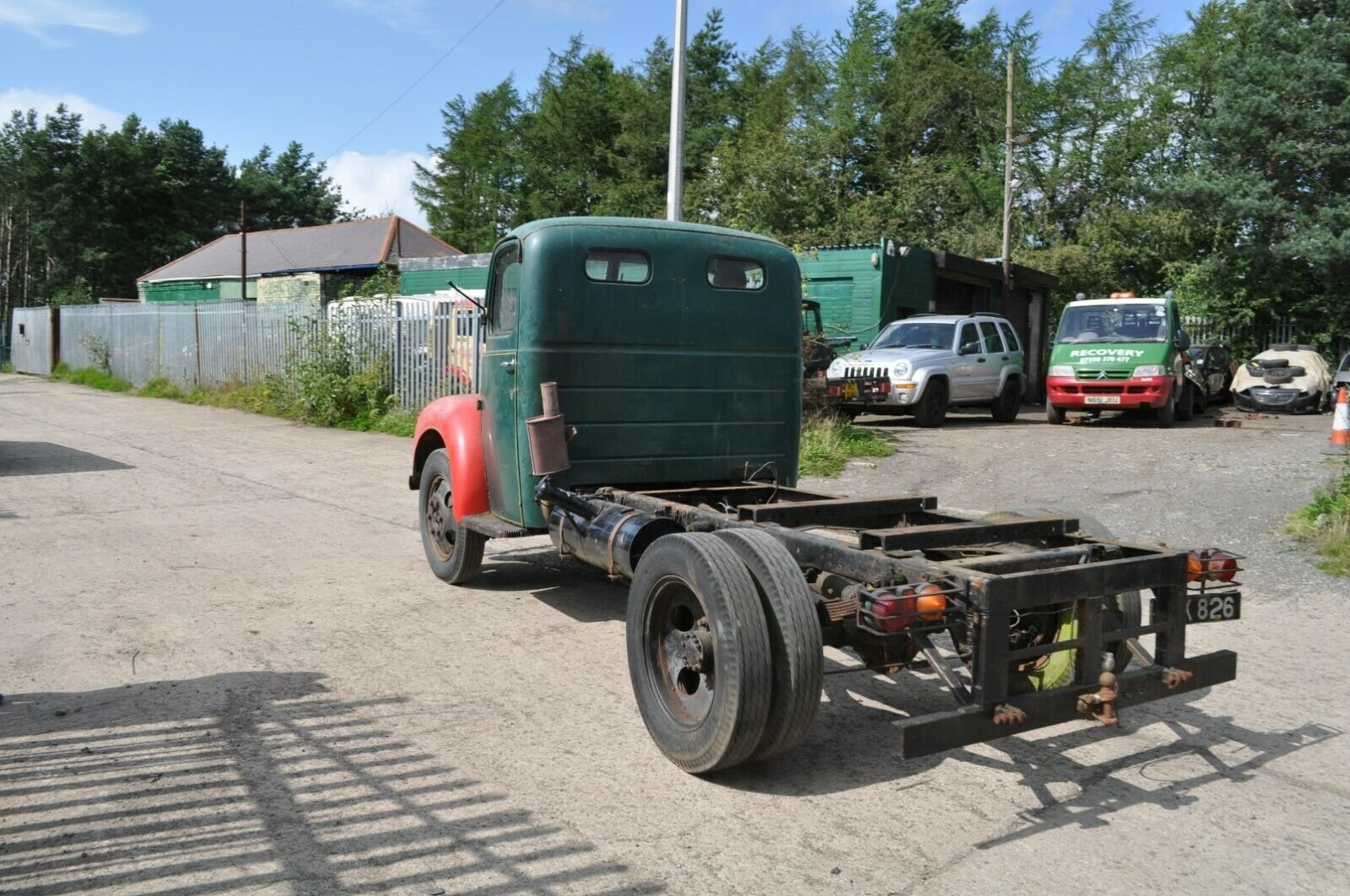 1955 FORD THAMES TRADER ET6 CLASSIC TRUCK MOT EXEMPT FORDSON SOLD (picture 4 of 6)