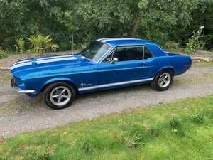 1968 Ford Mustang Acapulco Blue PAS New Wheels & Tyres