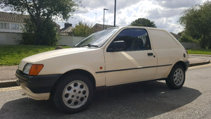 1991 ford fiesta panel van - Getting rare