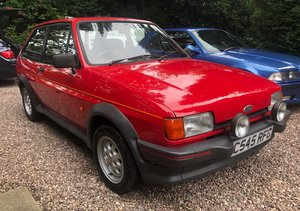 1986 Ford Fiesta XR2 mk2 low miles, 1 owner, lovely